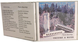 Album CD Country & Blues Pierre Oeuvray Harmonica